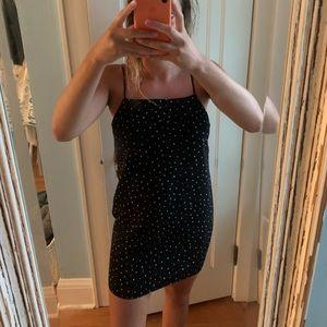 Topshop polka dot shift dress